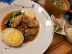 6/25晩ごはん:台湾式豚肉と豆腐の煮込み_a0116684_19331435.jpg