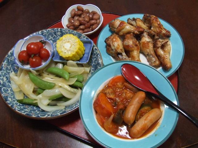 鶏手羽元のオーブン焼き_f0019498_1764933.jpg