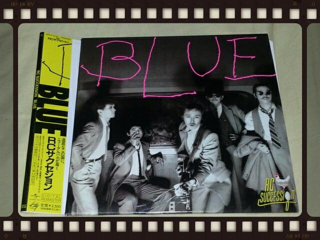 RCサクセション / BLUE (紙ジャケ)_b0042308_23203874.jpg