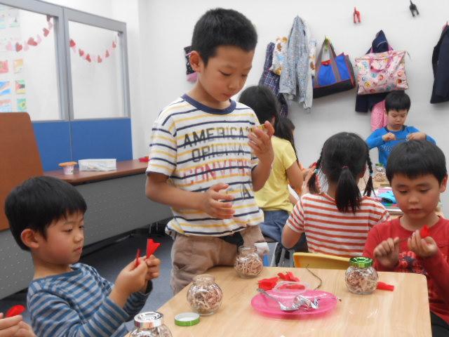 5月9日 工作教室 「母の日へのプレゼント」_c0315913_20543104.jpg