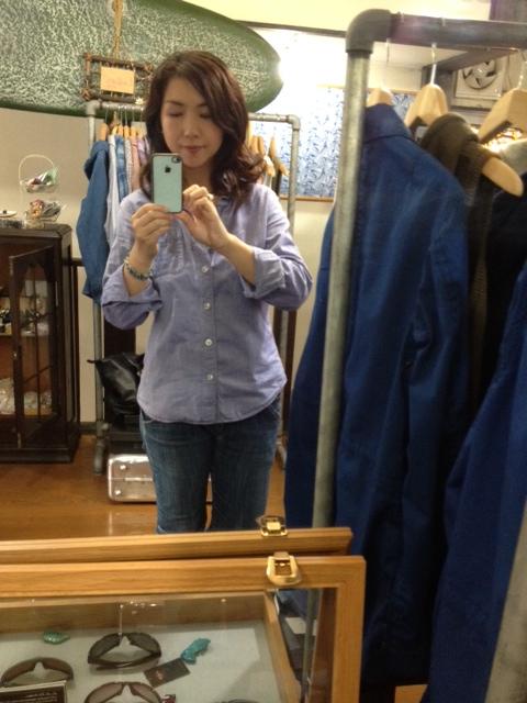 シャツの袖丈短く出来ます♪_d0108933_17505755.jpg