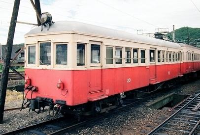 野上電気鉄道 モハ23_e0030537_22435684.jpg