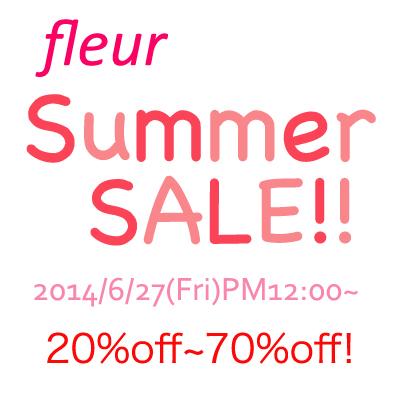 fleur summer sale!!!!特別item♡ by kayo_f0053343_19425141.jpg