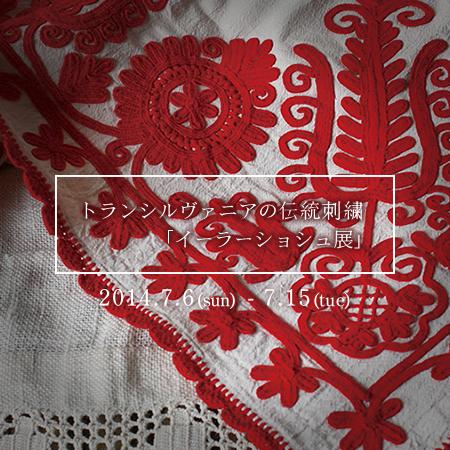 トランシルヴァニアの伝統刺繍「イーラーショシュ展」_b0142544_11113011.jpg