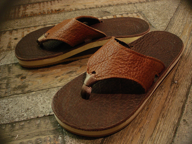 "NEW : THE SANDALMAN [BEACH WIDE] ""VIBRAMS\"" & [NO CUSHION] !!_a0132147_21542587.jpg"