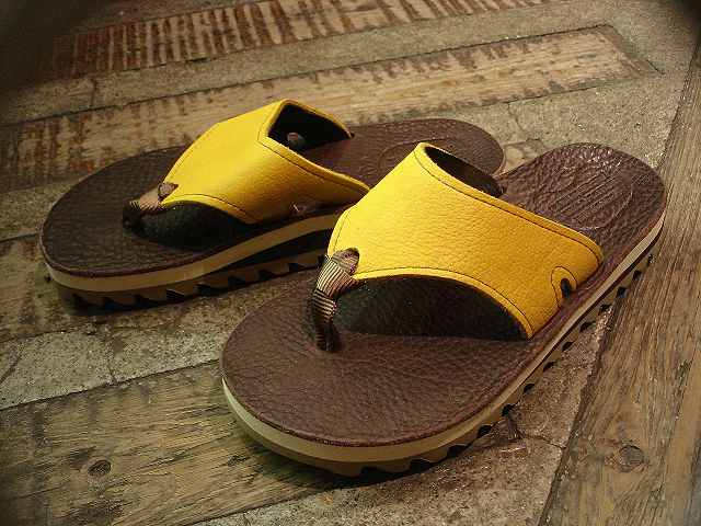 "NEW : THE SANDALMAN [BEACH WIDE] ""VIBRAMS\"" & [NO CUSHION] !!_a0132147_21573669.jpg"