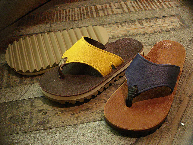 "NEW : THE SANDALMAN [BEACH WIDE] ""VIBRAMS\"" & [NO CUSHION] !!_a0132147_21574788.jpg"
