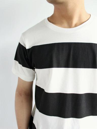 JIGSAW ジグソーのクルーネックボーダーTシャツ (products for us)_b0139281_14381780.jpg