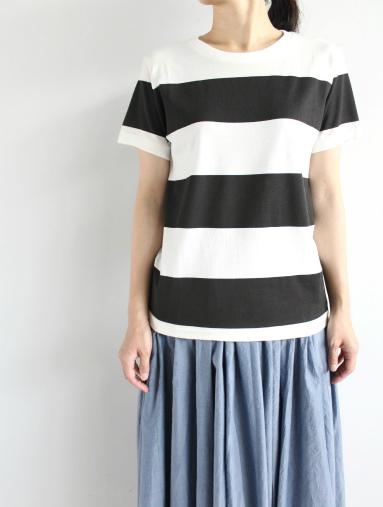 JIGSAW ジグソーのクルーネックボーダーTシャツ (products for us)_b0139281_14383155.jpg