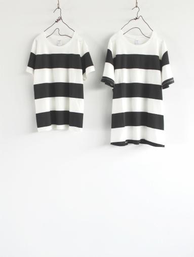 JIGSAW ジグソーのクルーネックボーダーTシャツ (products for us)_b0139281_14383618.jpg