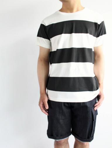 JIGSAW ジグソーのクルーネックボーダーTシャツ (products for us)_b0139281_1439146.jpg