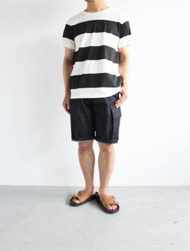 JIGSAW ジグソーのクルーネックボーダーTシャツ (products for us)_b0139281_14392156.jpg