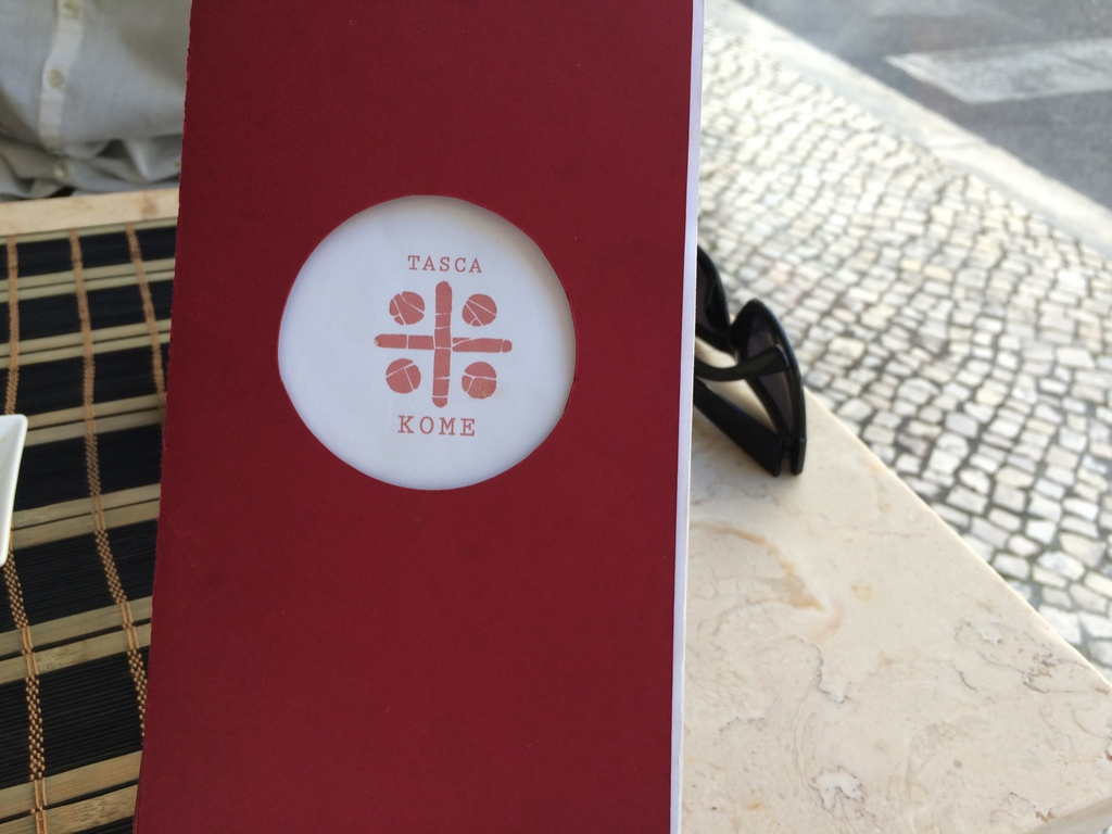 Tasca KOME リスボンの和食店。_c0180686_17494503.jpg