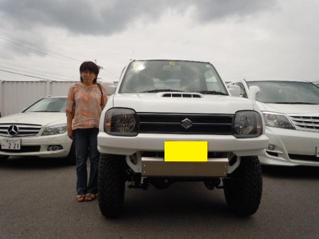 祝☆納車 JB23 ジムニー XG 4WD 3インチUP仕様 _c0213517_12101718.jpg
