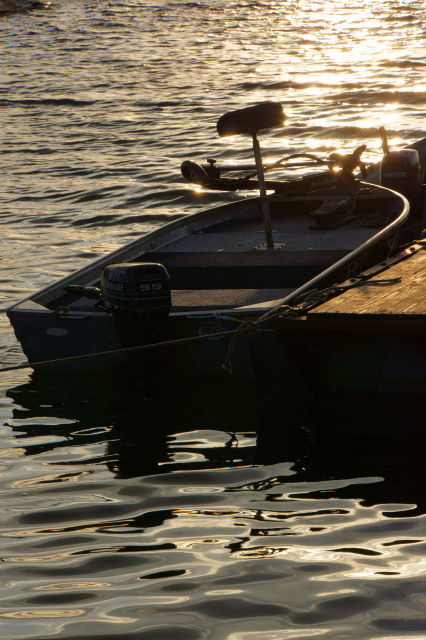 湖畔の夕暮_a0257652_16584854.jpg