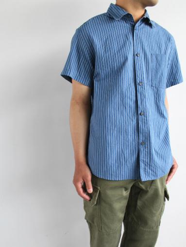 Raie  SHIRT S/S - cotton stripe_b0139281_14424526.jpg
