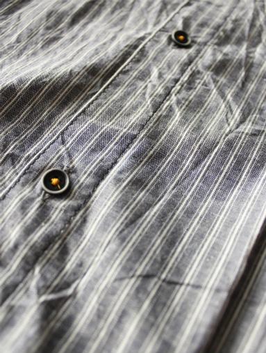 Raie  SHIRT S/S - cotton stripe_b0139281_14431050.jpg