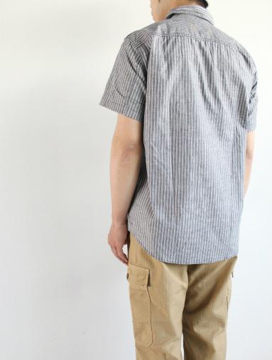 Raie  SHIRT S/S - cotton stripe_b0139281_14434273.jpg