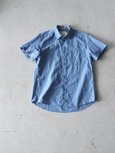 Raie  SHIRT S/S - cotton stripe_b0139281_14435418.jpg