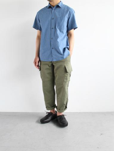 Raie  SHIRT S/S - cotton stripe_b0139281_14443390.jpg