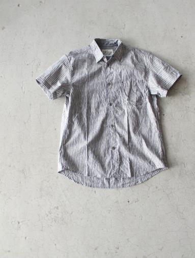 Raie  SHIRT S/S - cotton stripe_b0139281_1444779.jpg