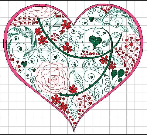 ハートのバラ園を刺繍しました♪_c0316026_13324181.jpg