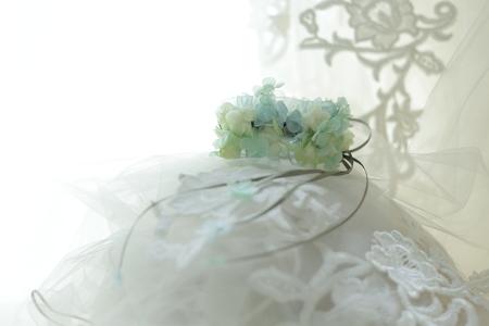 花嫁の花のアクセサリ アームレット プリザーブドで_a0042928_22132666.jpg