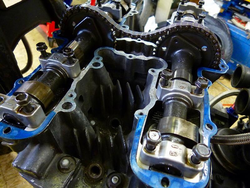 エンジン分解作業_a0257440_21535889.jpg