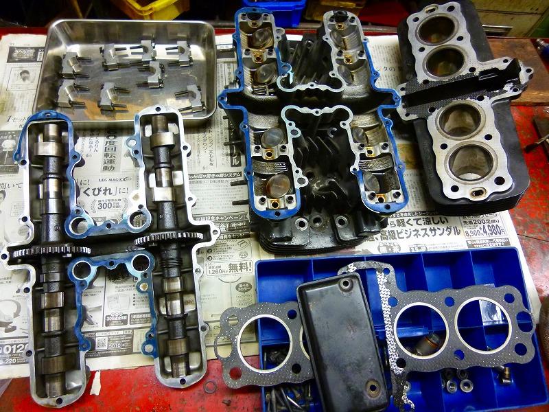 エンジン分解作業_a0257440_2263911.jpg