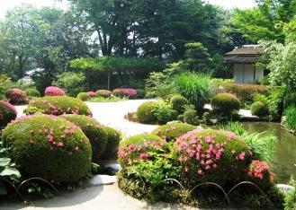 詩仙堂、サツキの庭_b0067283_19434570.jpg