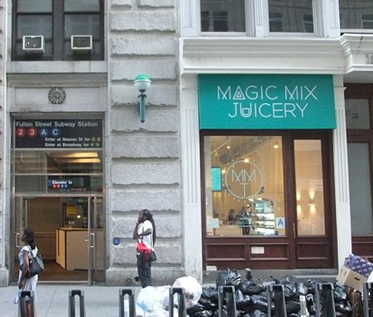 NYにある魔法のジュース屋さん Magic Mix Juicery_b0007805_2353350.jpg