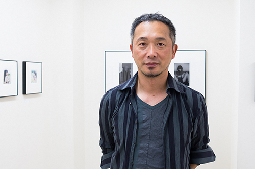 今日は、舞山秀一さん、梶原高男さん、平林逹也さん、山田久美夫さんの写真展巡りをしていました。_b0194208_2129958.jpg