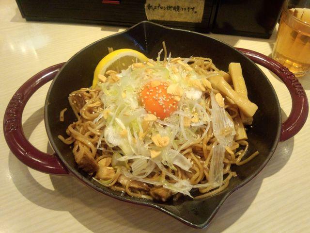 焼き和え麺@高倉二条_a0117520_2281045.jpg