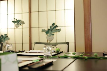 初夏の装花 浅草茶寮一松様へ 風が通るように_a0042928_19453270.jpg