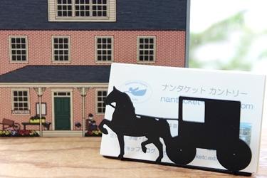アーミッシュの馬車のカードホルダー_f0161543_15143544.jpg