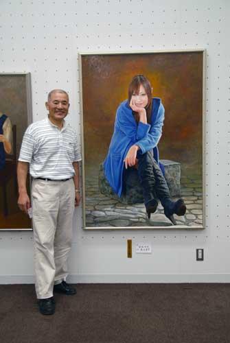 「第61回全日肖展」東京都美術館できょうから始まりました。_b0174462_22193738.jpg