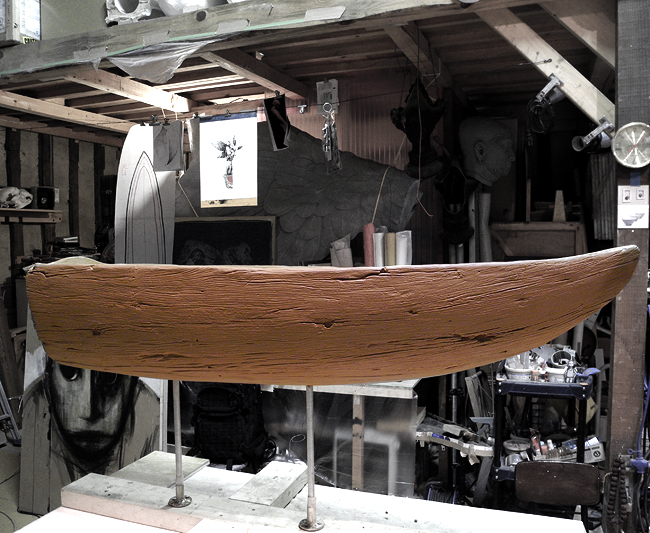 おいしそうな舟の原型完成_b0052471_2334591.jpg