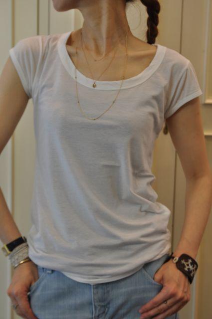 Scye の Tシャツ ・・・_b0110586_19315952.jpg