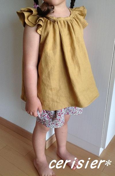 Linen dropsさんモニター☆くたくたリネン・からし色☆_d0324601_09415761.jpg