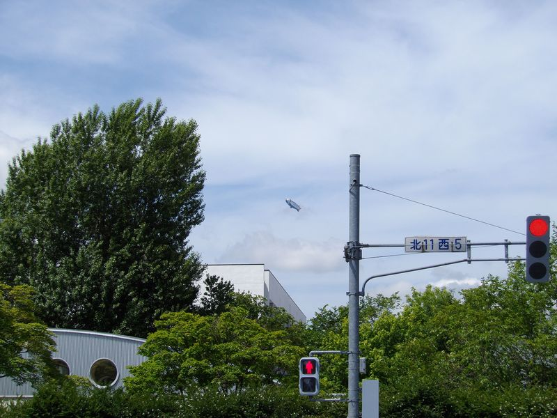 飛行船「スヌーピーJ号」最終飛行_c0025115_18132051.jpg