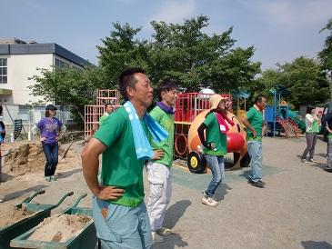 芝生プロジェクト2014  海保_e0149215_14135757.jpg