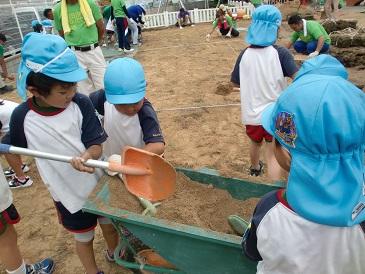 芝生プロジェクト2014  海保_e0149215_14481936.jpg