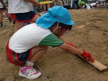 芝生プロジェクト2014  海保_e0149215_14493463.jpg