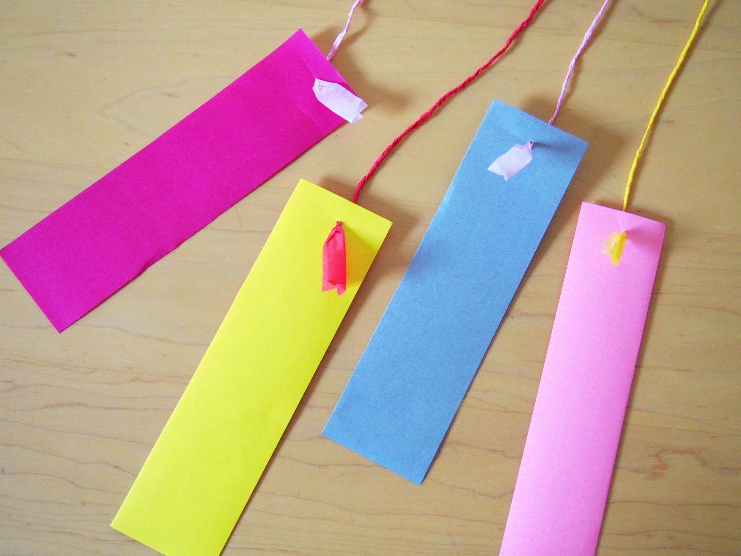 すべての折り紙 短冊 折り紙 : 七夕飾り〜短冊〜 : こどものに ...