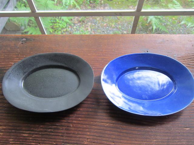 青と黒のお皿~井山三希子さん。_b0207631_1343479.jpg