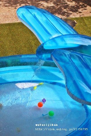 クジラプールと自動空気入れ_e0214646_1511164.jpg