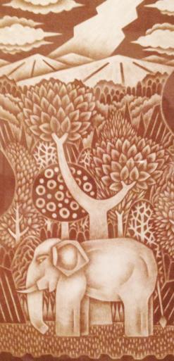 ◆妹尾一朗絵画展―楽園回帰―、白井和夫器展-が新潟日報朝刊『にいがたビュー』に載りました。_d0178448_02392377.jpg