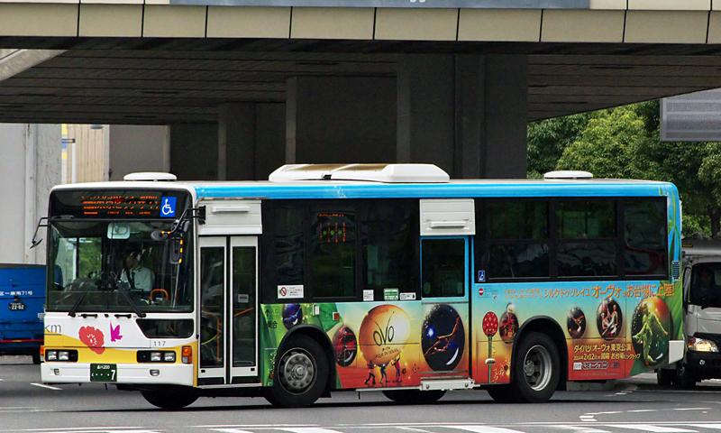ケイエム観光バス ※kmフラワーバス 117 ダイハツオーヴォ東京 ...