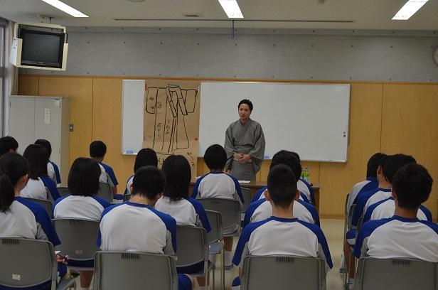 臼杵高校総合授業_d0230676_10491026.jpg
