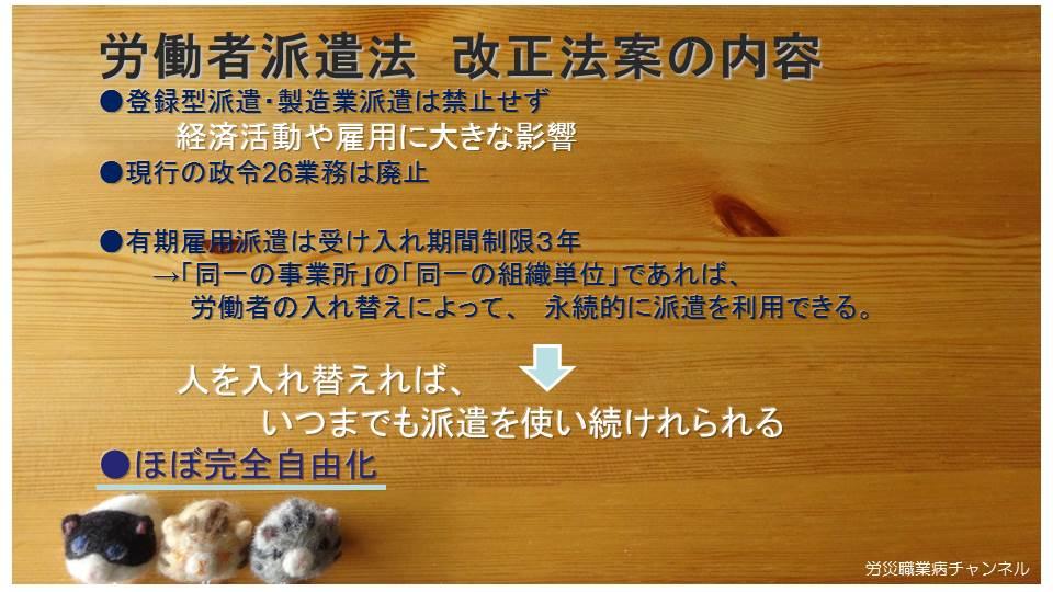 【動画】労災職業病チャンネル1-1「派遣法改正と、その背景」_e0149596_17144574.jpg